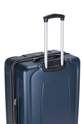 Reisekofferset Koffer Boston 537 3er-Set Blau Makro