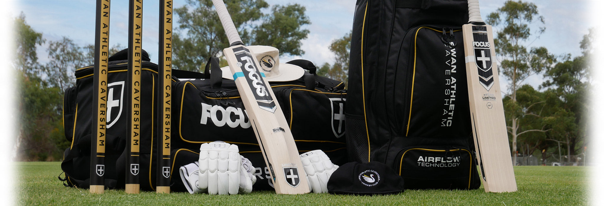 Focus Mi-Club - custom club cricket kit
