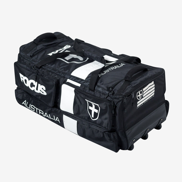 Focus Large Tri Wheelie Bag - White