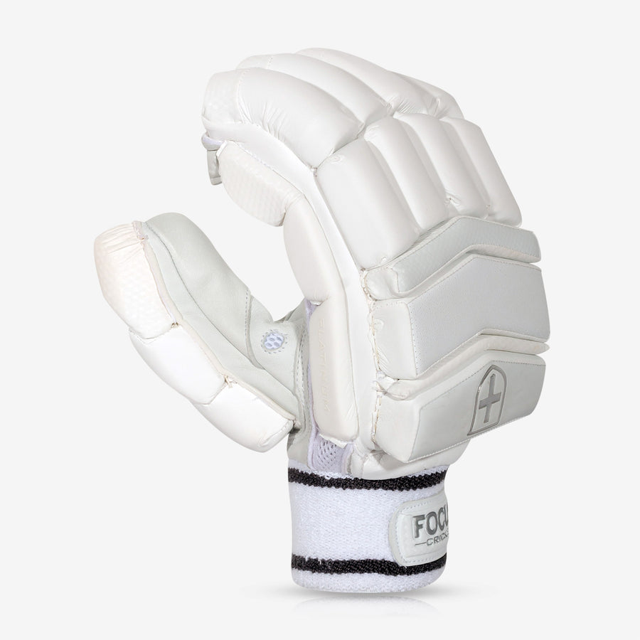 Focus Platinum Series Gloves - White Carbon