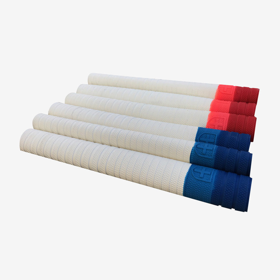 Focus Shield Players Grips - White/Navy/Blue