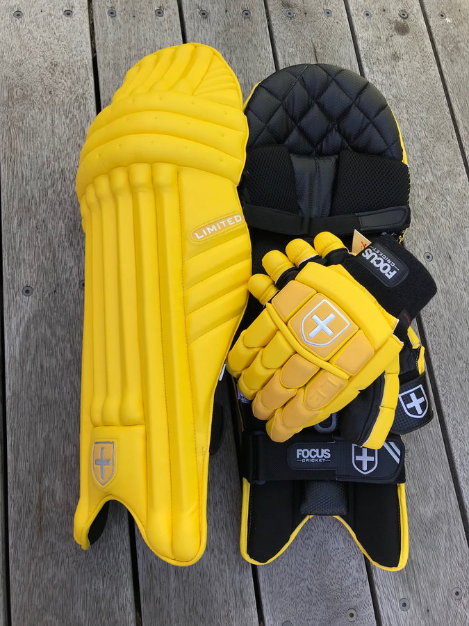 Focus Limited Series Pads - Yellow