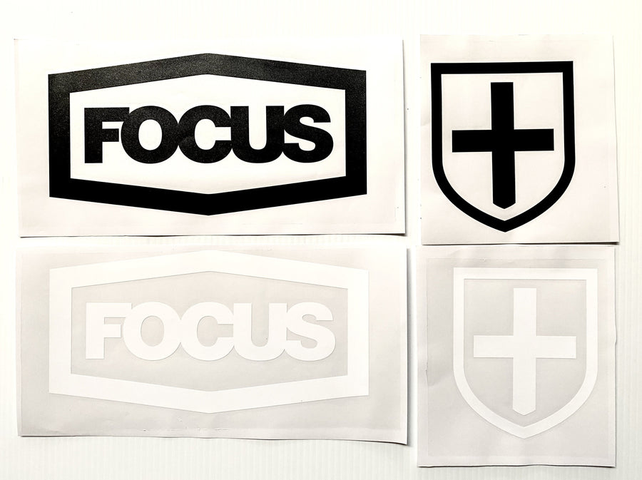 Focus Die-Cut Stickers