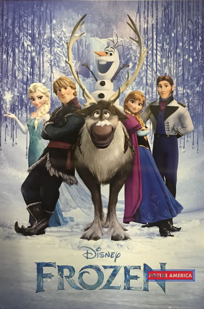 Frozen Uk Import Movie Poster 24 X 36