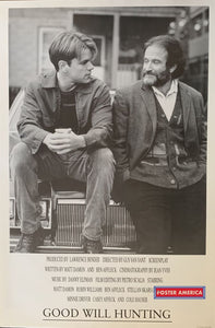 Good Will Hunting Black & White Movie Poster 24 X 36