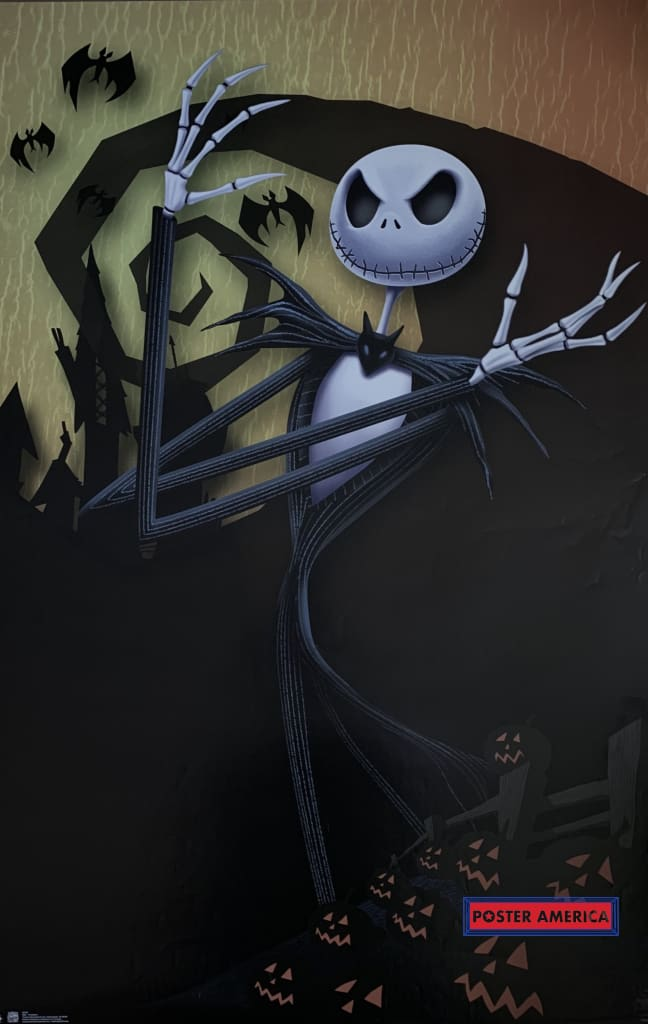 Nightmare Before Christmas Poster 22 X 34