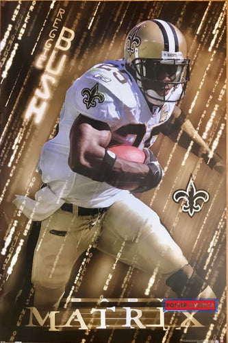 Reggie Bush Baby Matrix Football Poster 2006 22.5 X 33.5