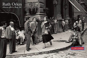 Ruth Orkin American Girl In Italy 1951 Poster Reproduction Print 24 X 36