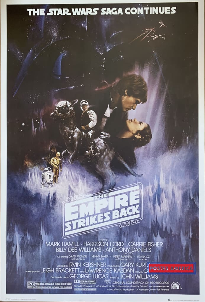 Star Wars The Empire Strikes Back Poster 24 X 36