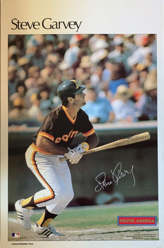Steve Garvey Padres Sports Illustrated Vintage Poster 23 X 35 Vintage Poster