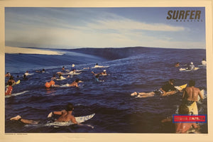 Surfer Magazine Photo By Joli Out Of Print Poster 23 X 35