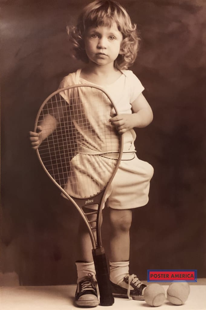 Tennis Boy By Tony Arnold Poster 23 X 35