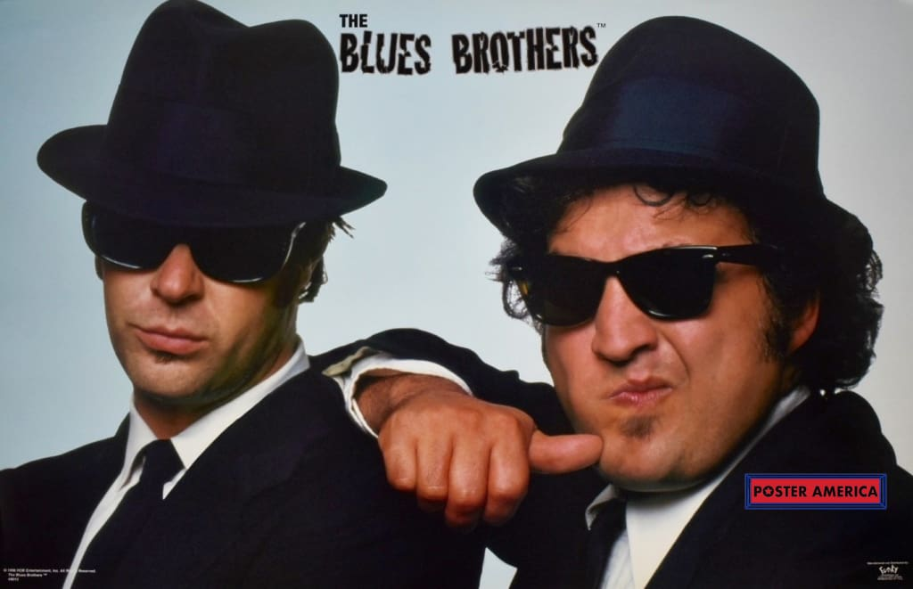 The Blues Brothers Rare Belushi Thumb To Cheek Vintage Poster 22 X 34.5 Vintage Poster