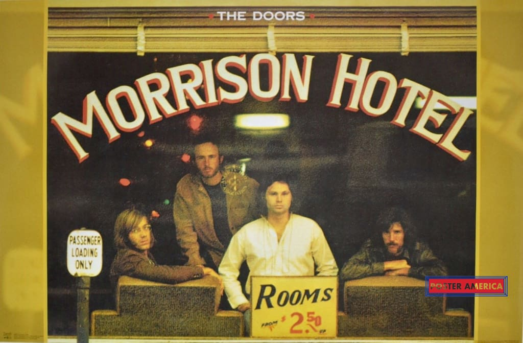 The Doors Jim Morrison Hotel Poster 22 X 34
