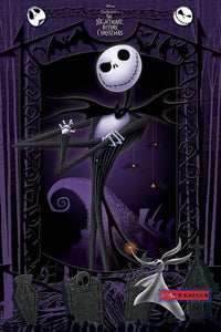 The Nightmare Before Christmas Purple Poster 24 X 36