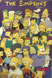 The Simpsons Character Collage Vintage Poster 23 X 35 Vintage Poster
