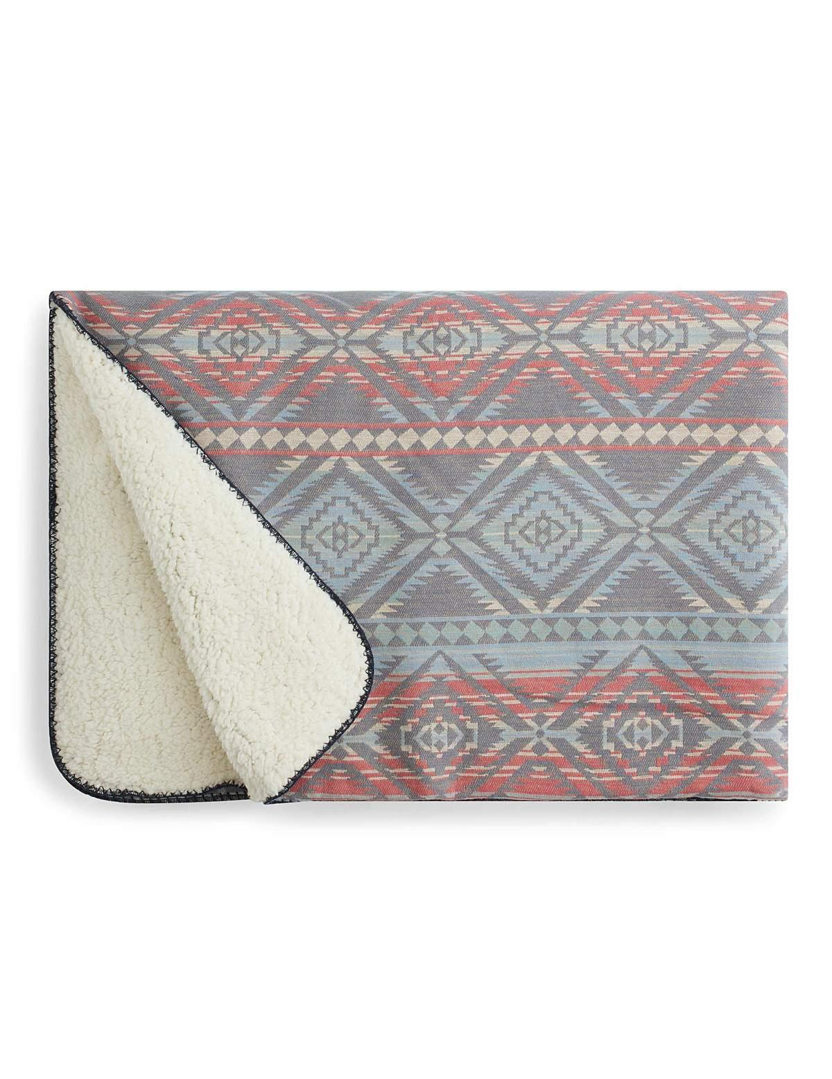 Sherpa Throw Blanket - Wheat Boutique