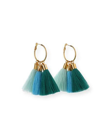 Lily Tassel Earrings - Wheat Boutique