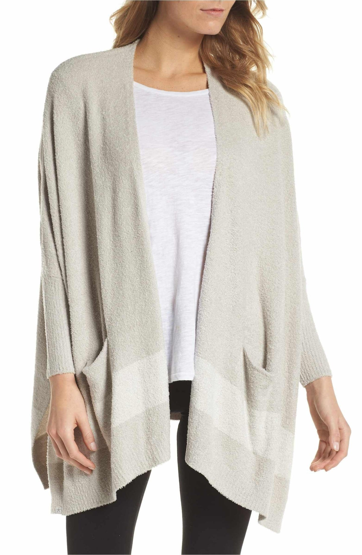 Cliffside Wrap - Silver - Wheat Boutique