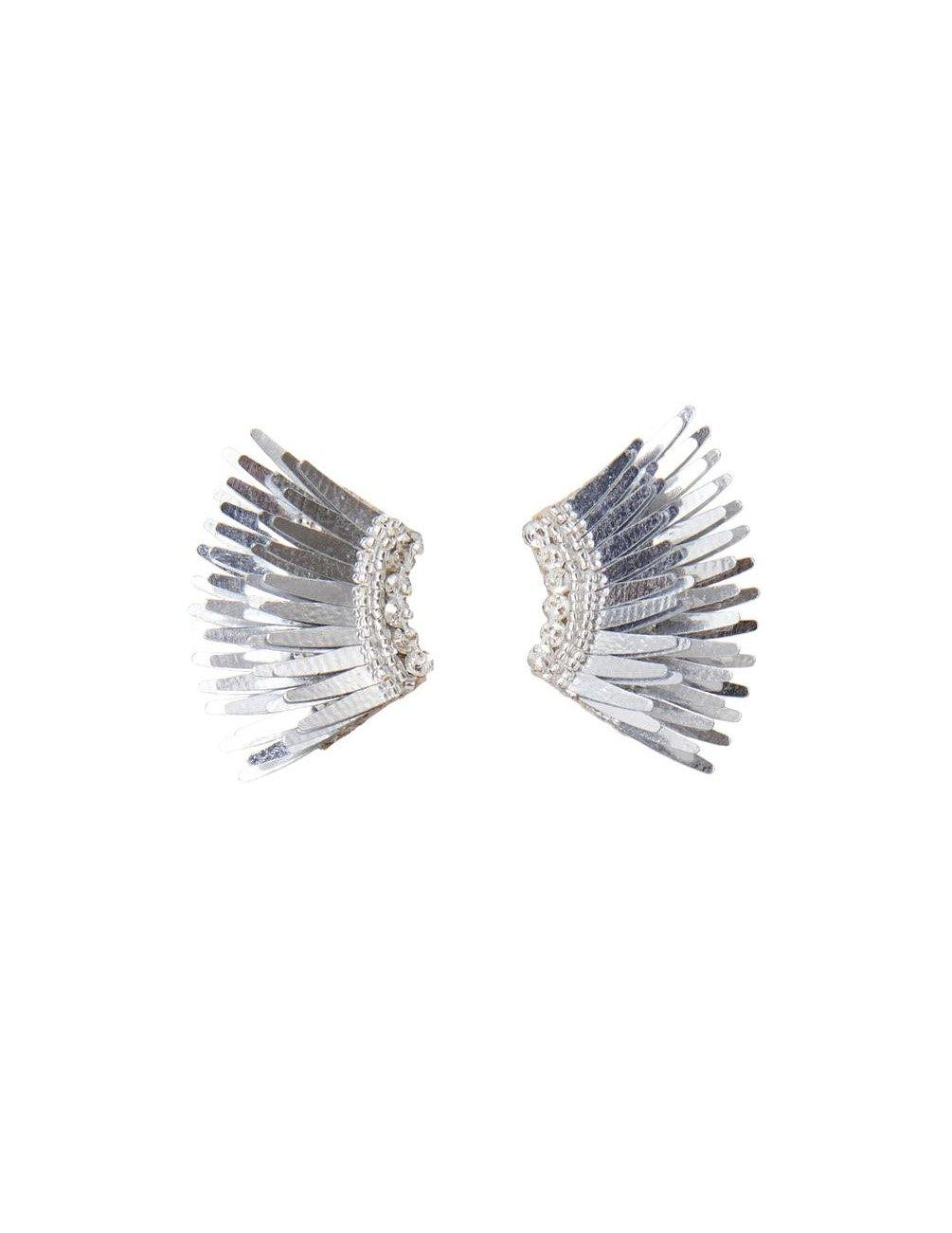 Silver Mini Madeline Earrings