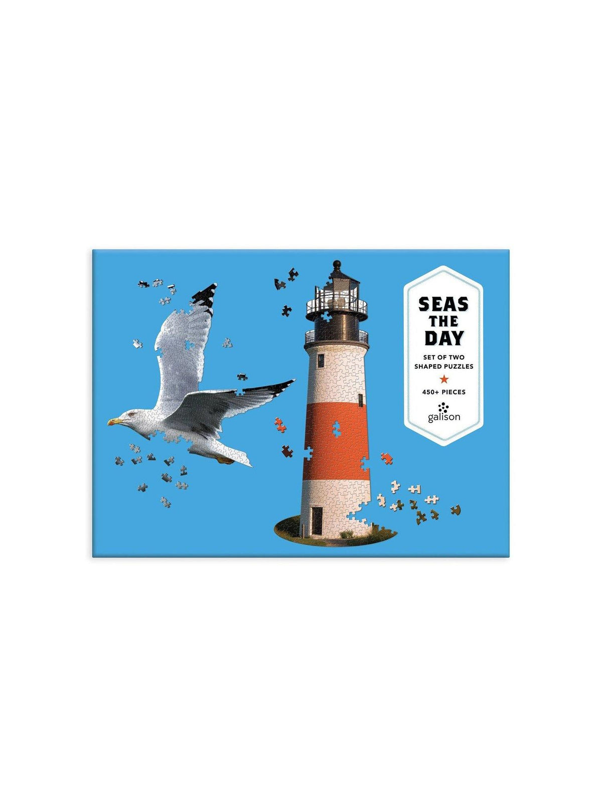 Seas the Day 2 in 1 Puzzle - Wheat Boutique