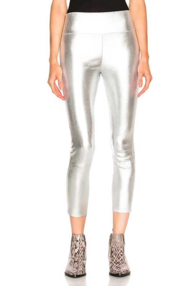 Silver Ankle Leggings