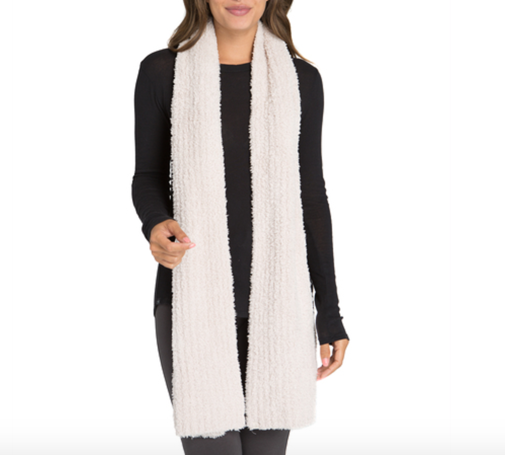 CozyChic Ribbed Scarf - Wheat Boutique