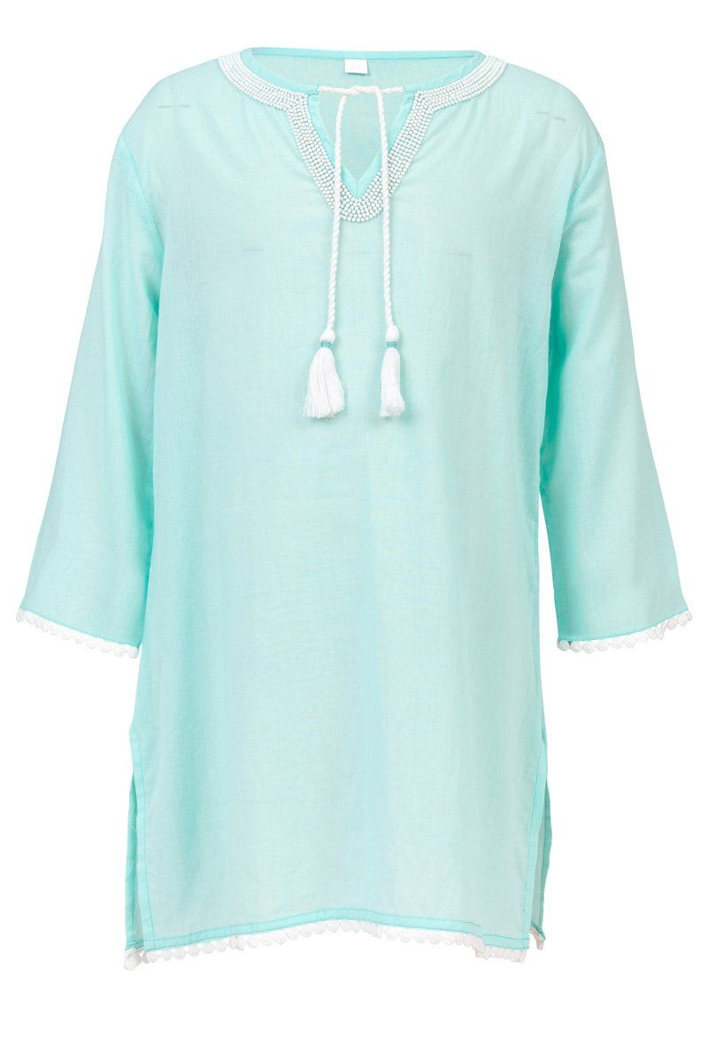 Snapper Rock Girl's Mint Bead Dress