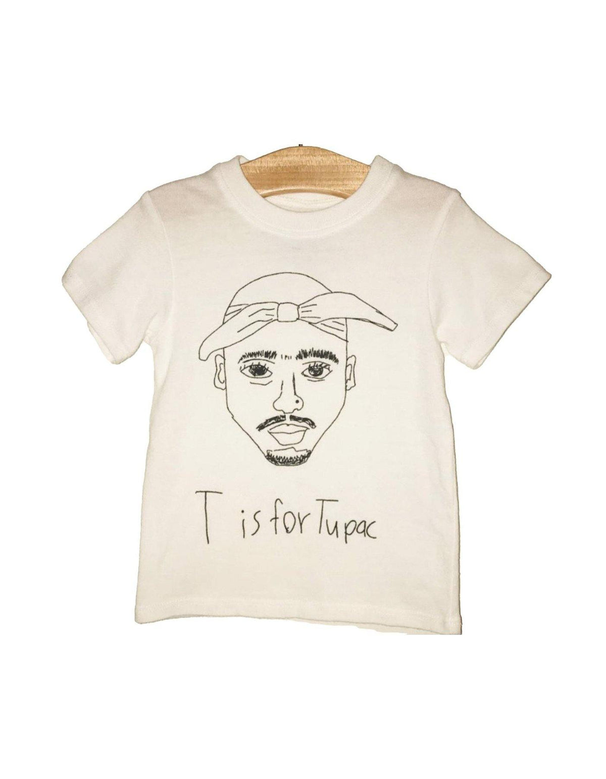 T is for Tupac - Wheat Boutique