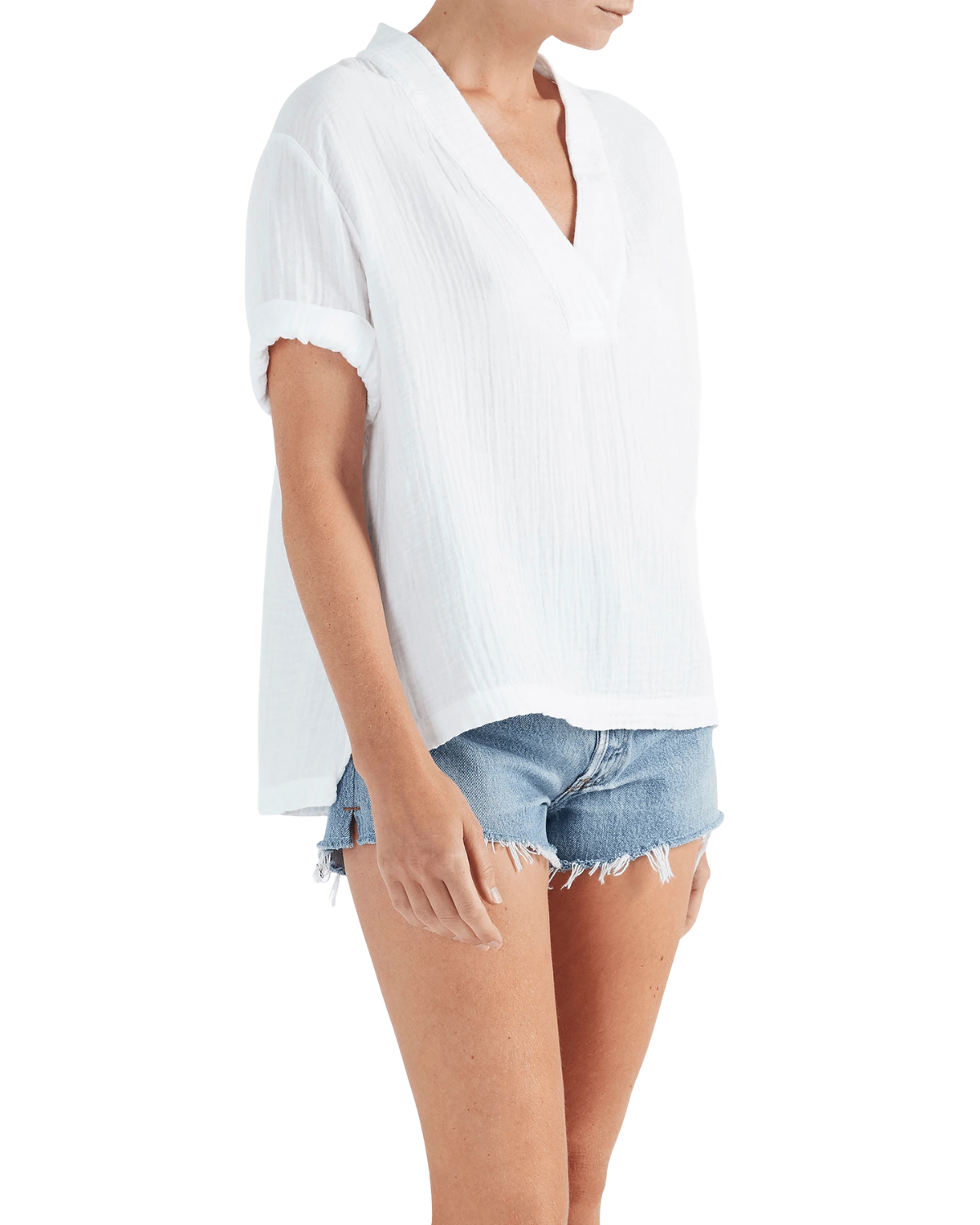 Avery Top - White