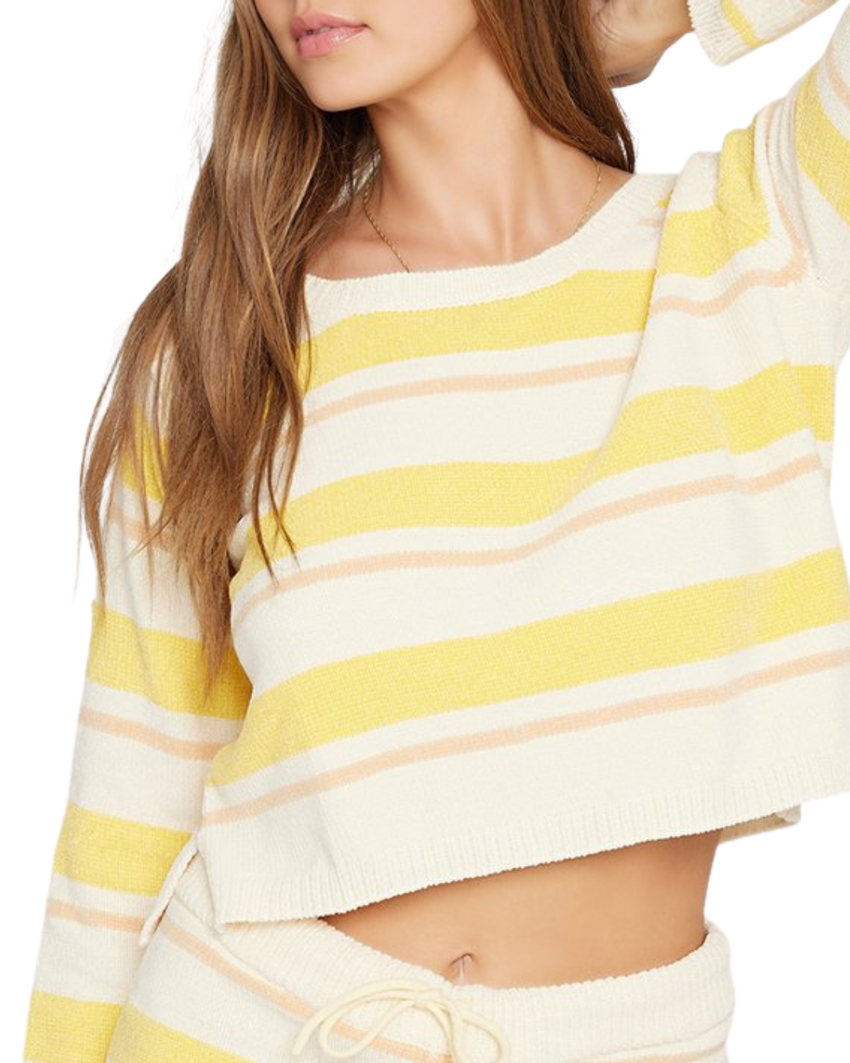 Sun Seeker Sweater - Sunshine Stripe