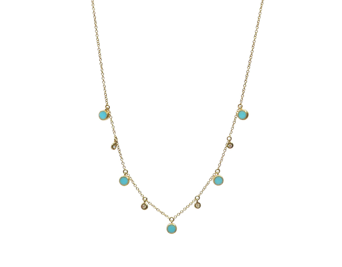 Turquoise Necklace - Wheat Boutique