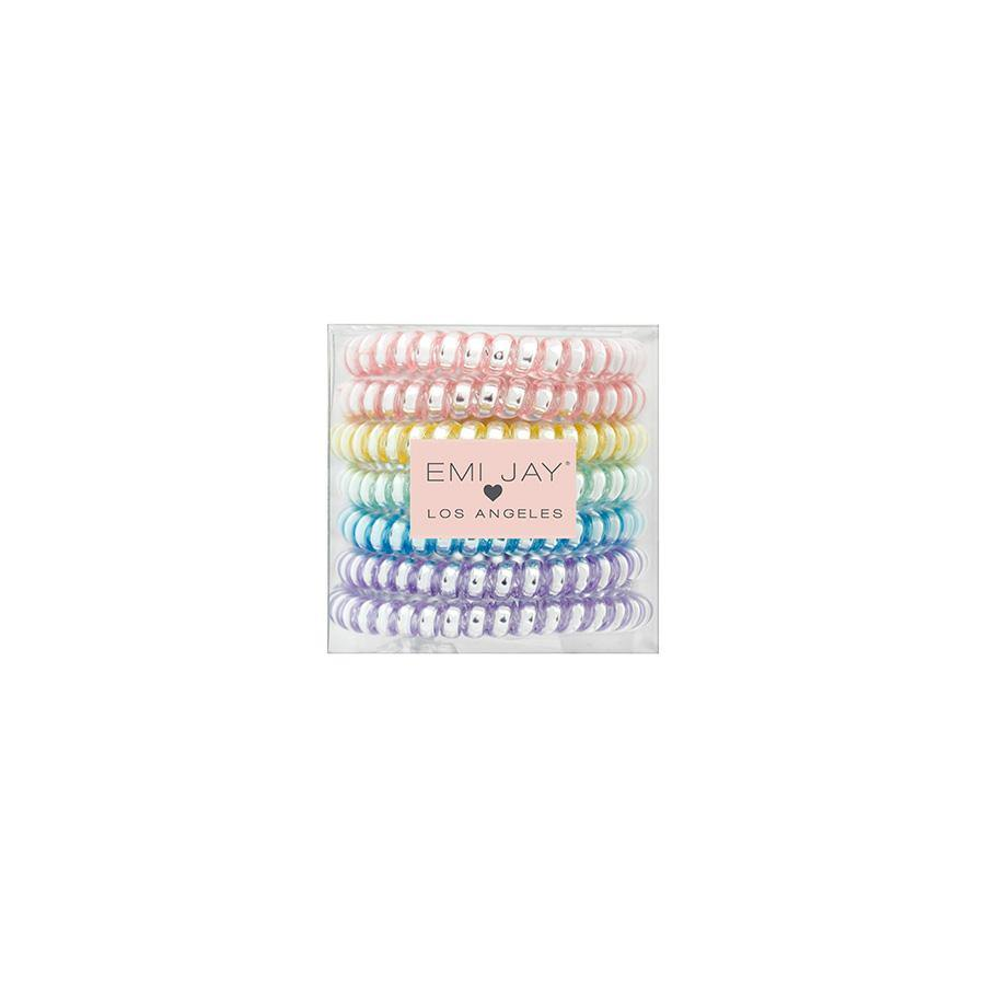7 Pack of Curly Hair-ties - Wheat Boutique