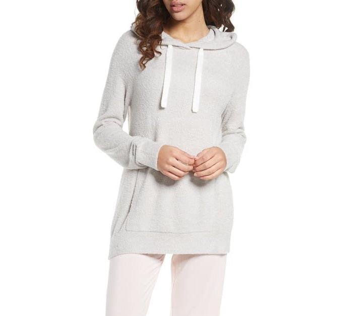 CozyChic Lite Pullover Hoodie - Silver - Wheat Boutique