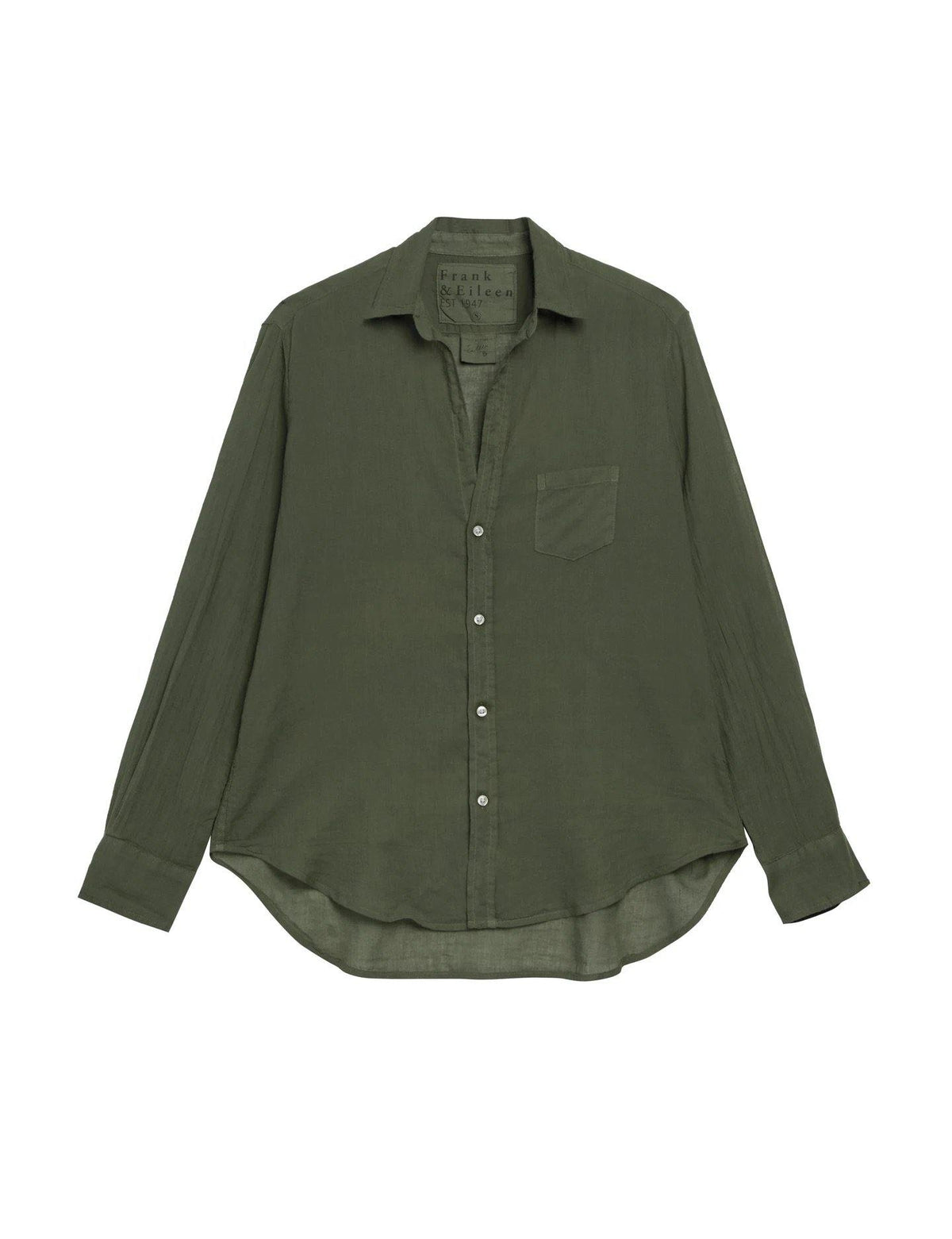 'Eileen' Voile Button Down