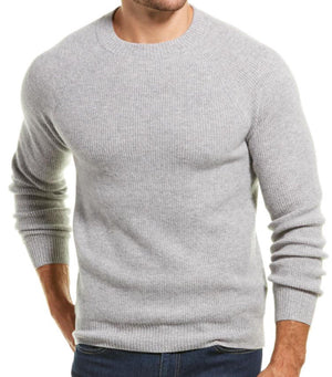 Load image into Gallery viewer, Men's Waffle Stitch Raglan Crewneck