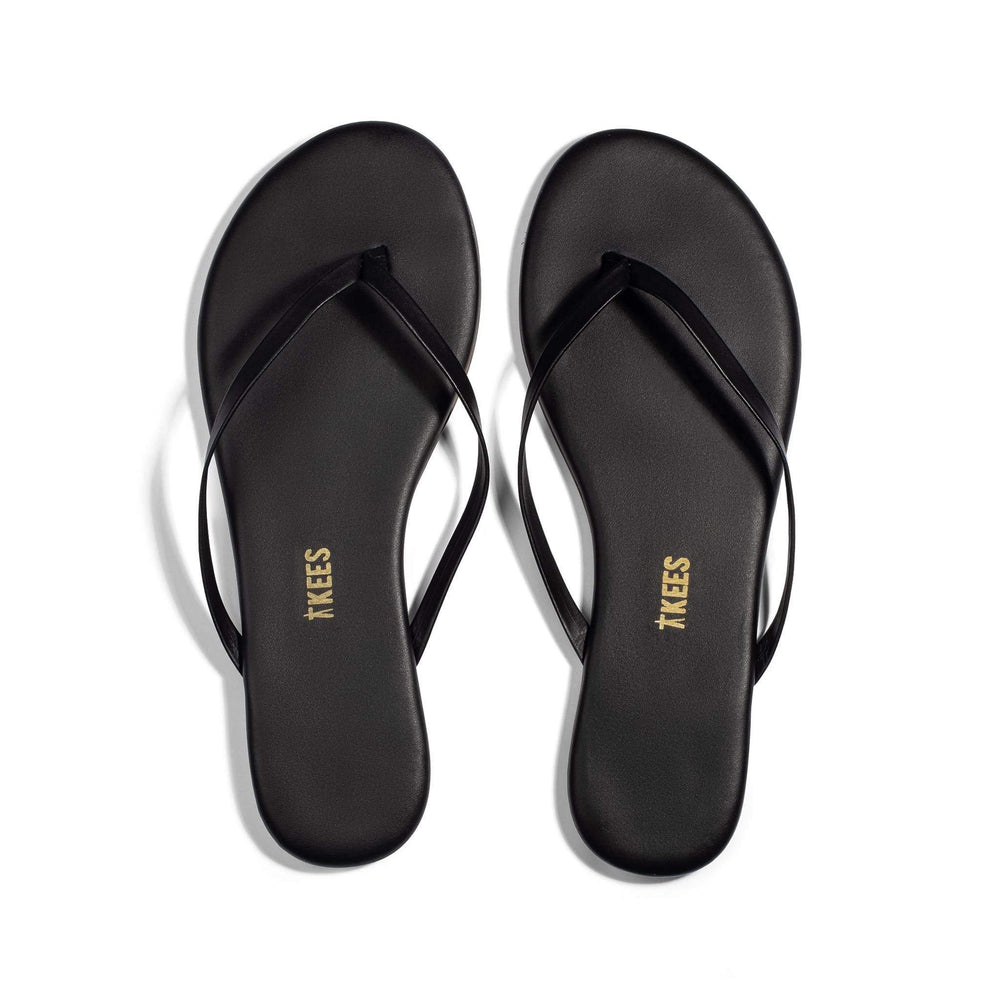 Load image into Gallery viewer, Black Sable Flip Flop