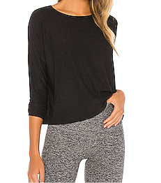 Morning Light Pullover - Black - Wheat Boutique