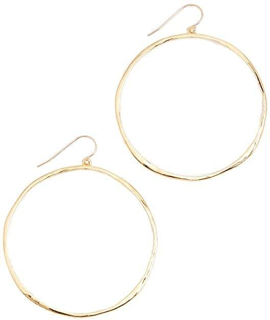G Ring Earrings - Wheat Boutique