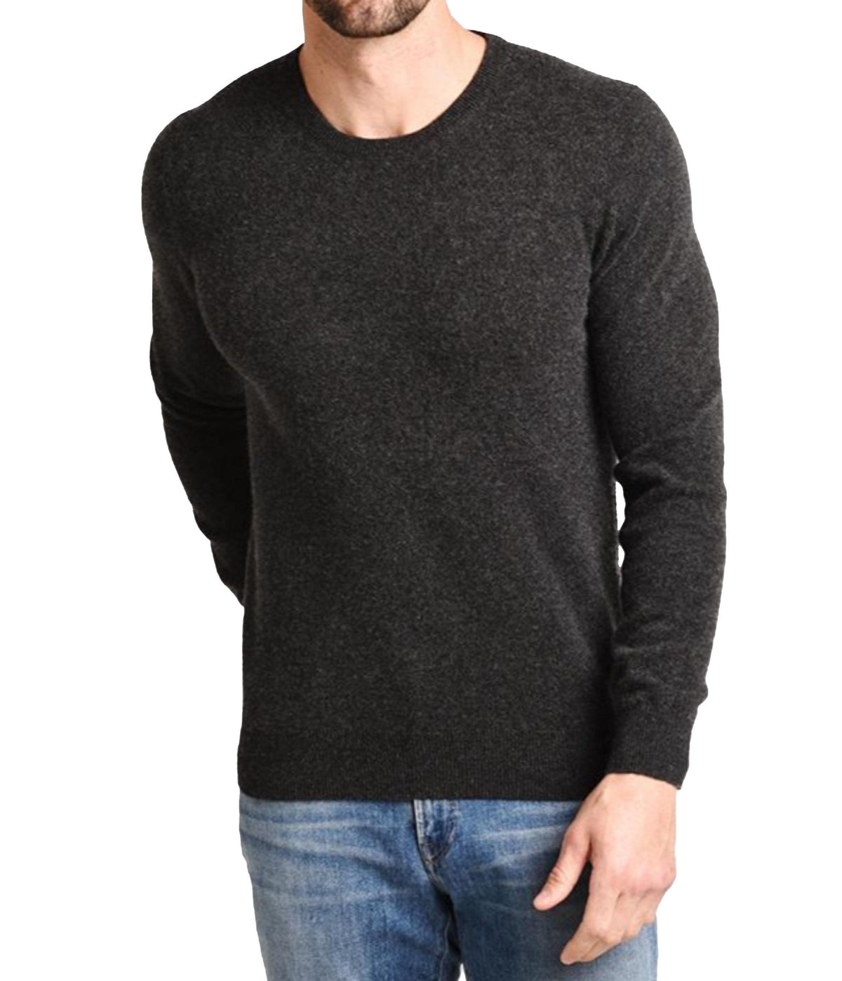 Crew Neck Pullover - Smoke - Wheat Boutique