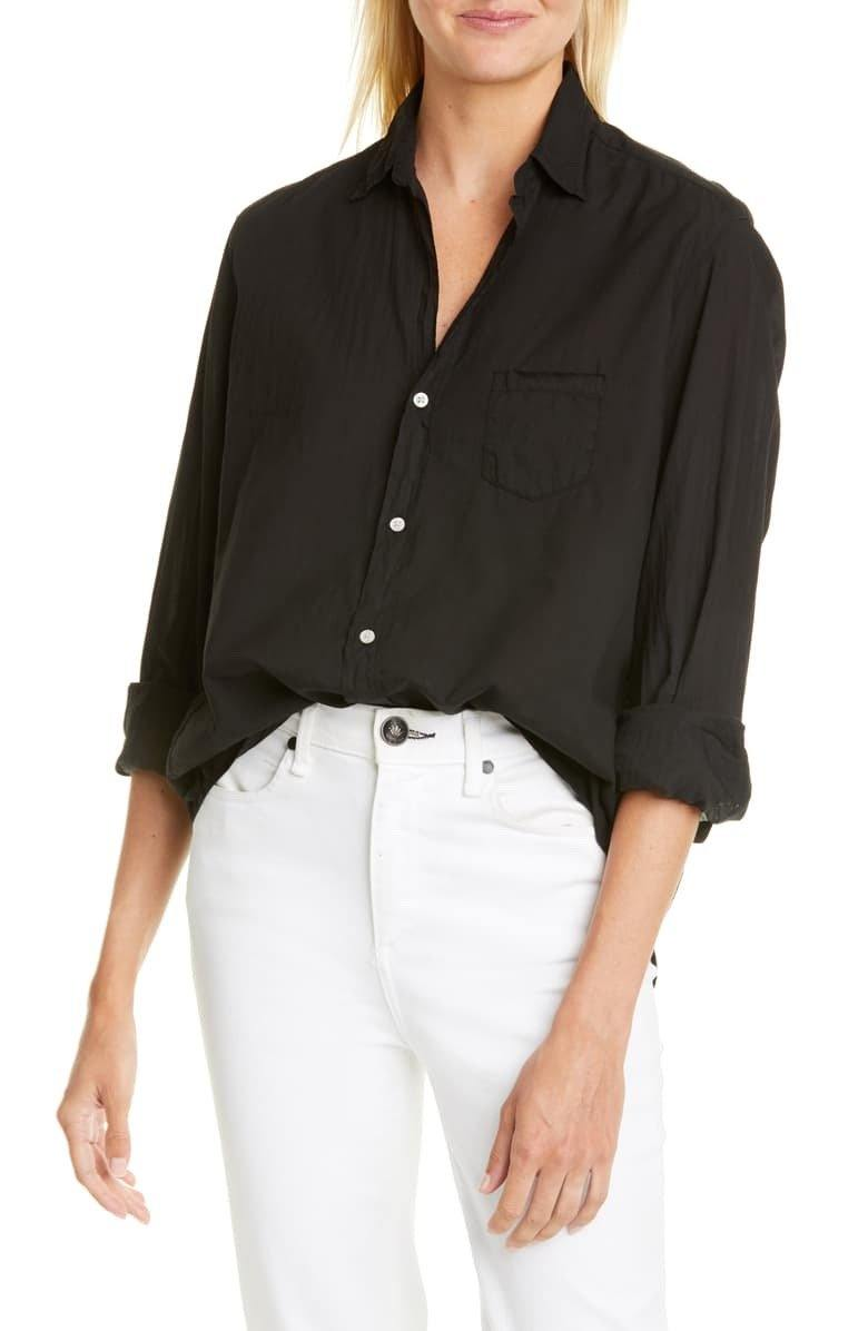 'Eileen' Poplin Button Down