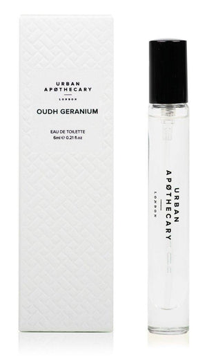 Load image into Gallery viewer, Oudh Geranium Travel Perfume