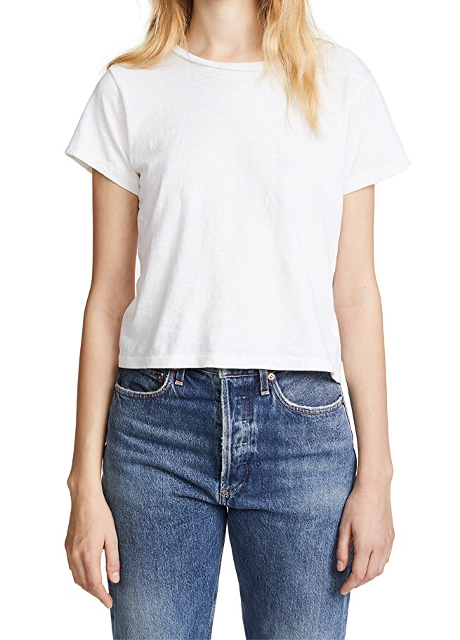 Classic Tee - White - Wheat Boutique