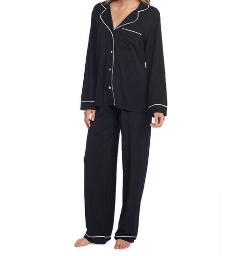 Luxe Milk Piped Pajamas