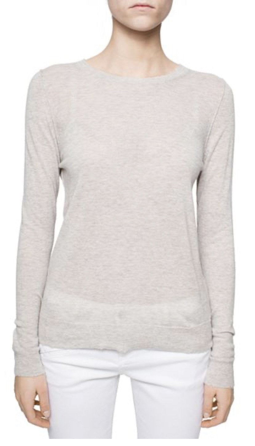 Miss CP Crew Neck Sweater - Neige