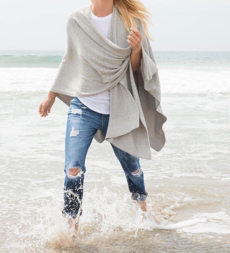 CozyChic Lite Weekend Wrap - Wheat Boutique