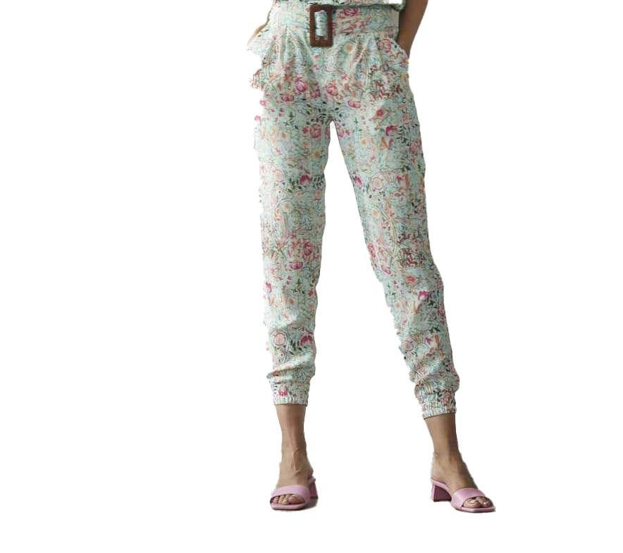 The 'Tiana' Pant - Mint