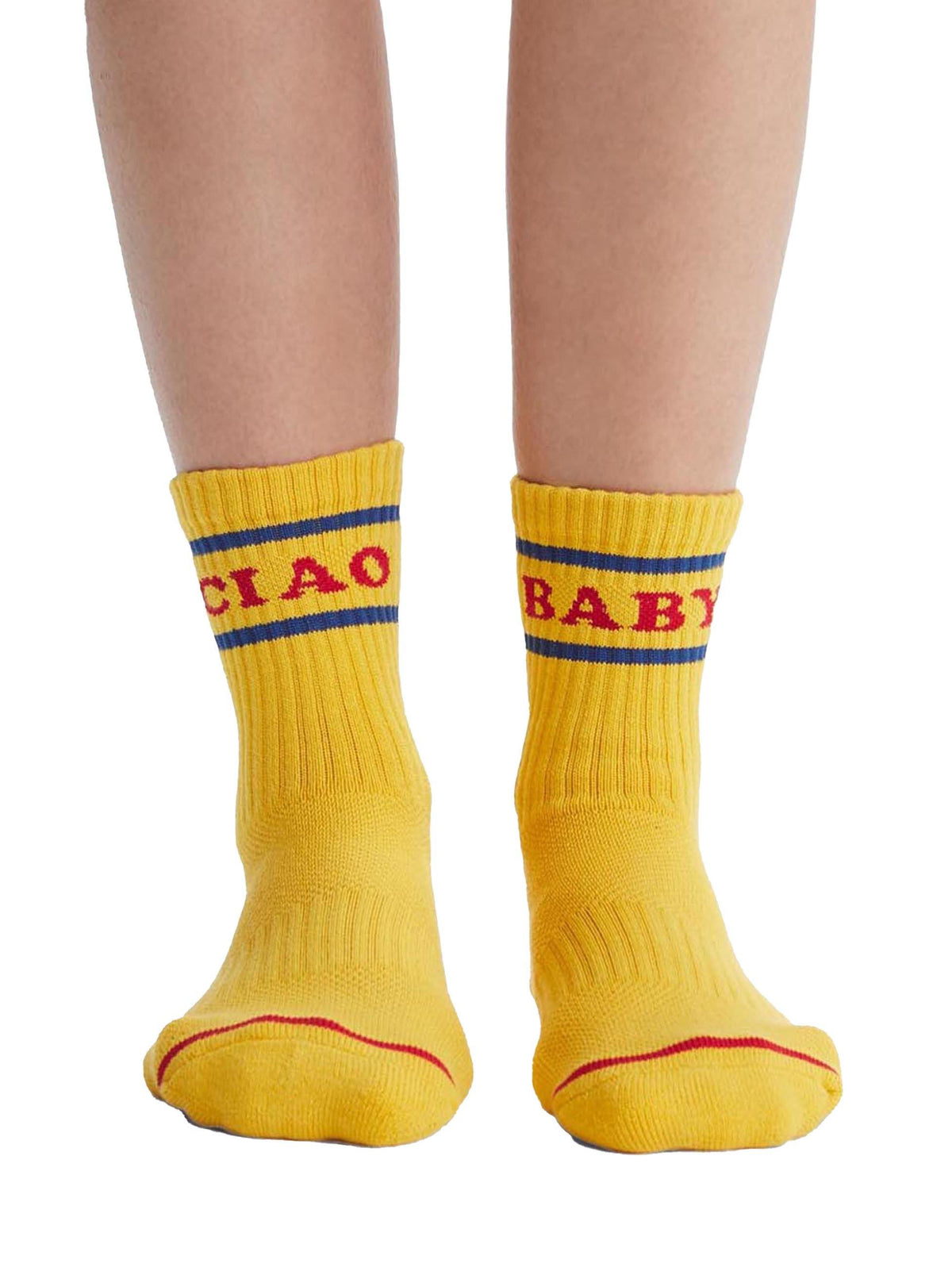 Ciao Baby Socks - Wheat Boutique