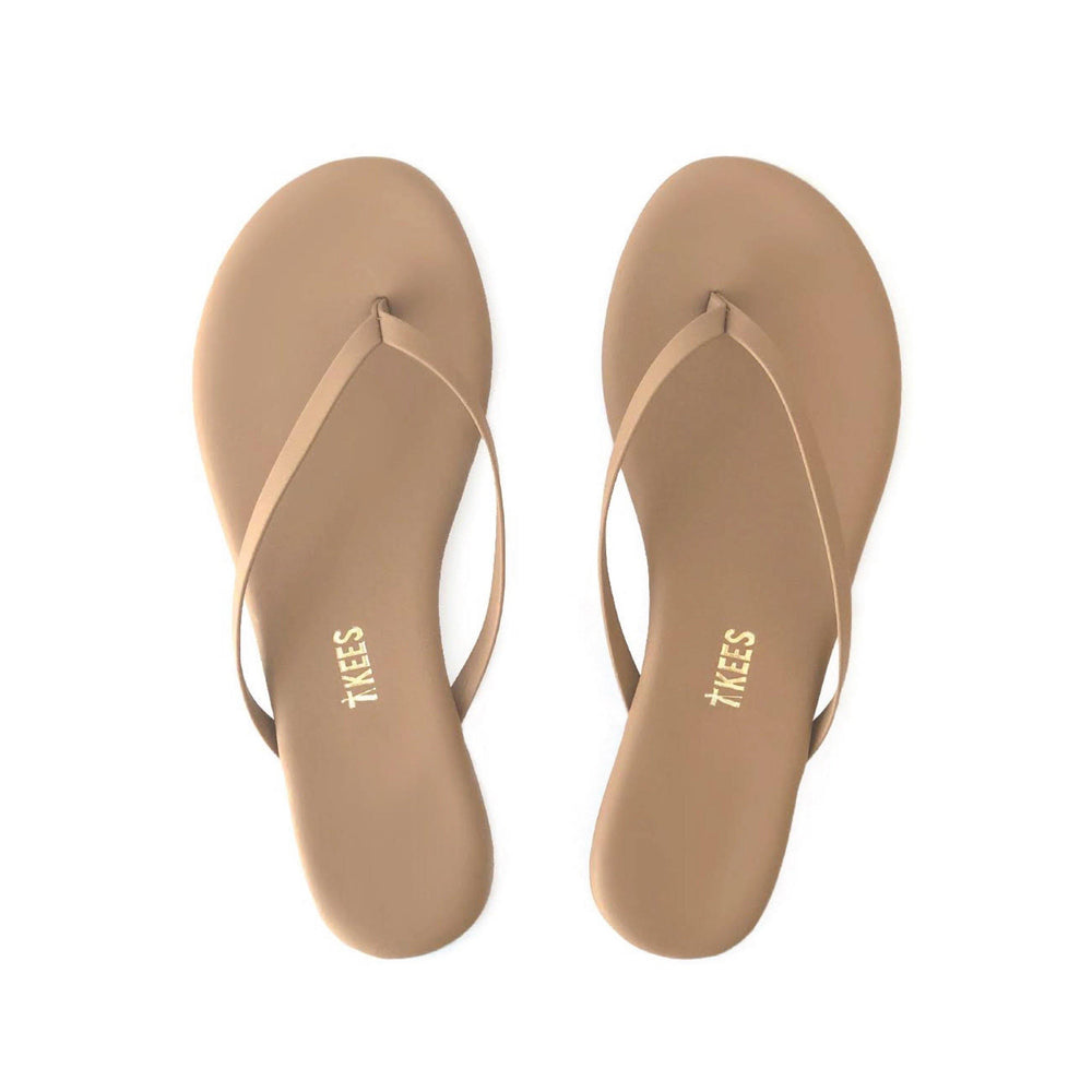 Load image into Gallery viewer, Matte Nude Lily Vegan Flip Flop