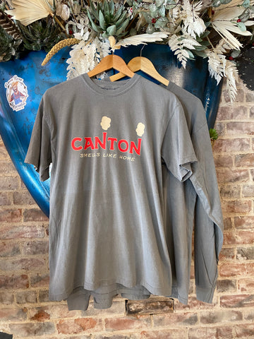 Canton Smells Like Home Comfort Colors PRM Tee - NEW COLOR - Ash Gray